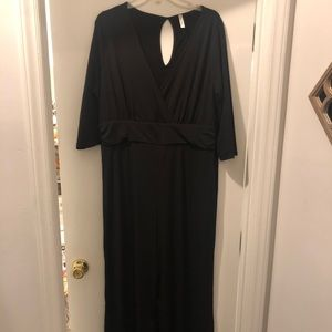 NWOT Black 3x Jumpsuit from Chic Soul